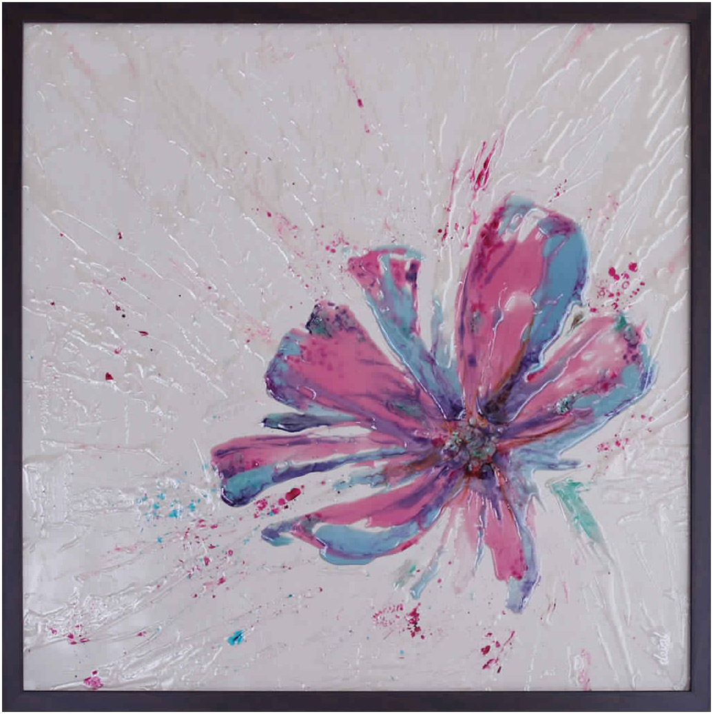 FLOWER – BLUE PINK