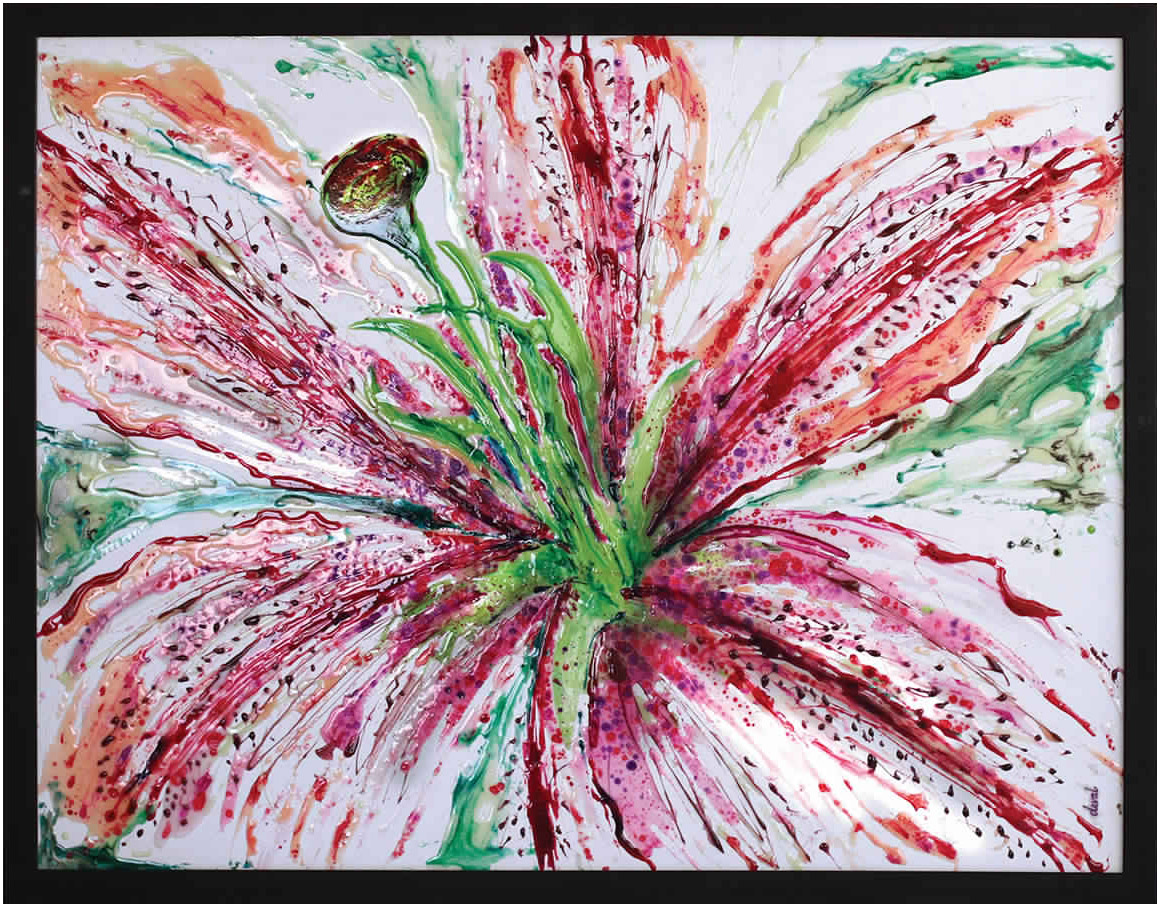 FLOWER – FUSHIA