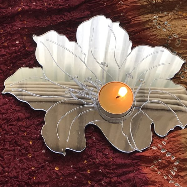 Mirror Lillium-Tea Light Holder